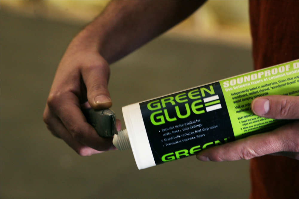 Green Glue Noiseproofing Product Installation Instructions